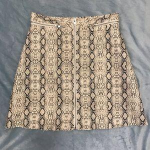 Faux London Skirt